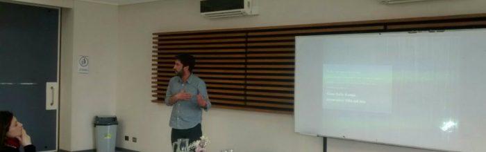 Docente de Periodismo presentó resultados de taller radiofónico en Congreso de Educación