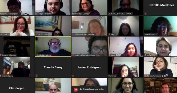 Carrera de Trabajo Social realiza encuentros sobre actualización profesional y disciplinar
