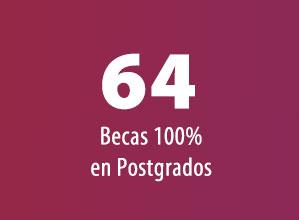 64 Becas 100% en Postgrados