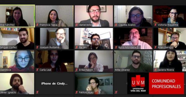 Comunidad Profesionales realiza workshop sobre LinkedIn Estratégico