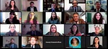 DOCENTE DE LA CARRERA DE DERECHO EXPONE EN CONVERSATORIO NACIONAL