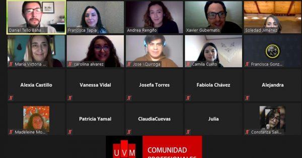 Estudiantes y titulados de Pedagogía en Inglés se reúnen en conversatorio