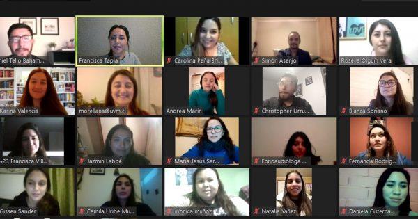 Enriquecedor encuentro entre titulados y estudiantes de la carrera de Fonoaudiología