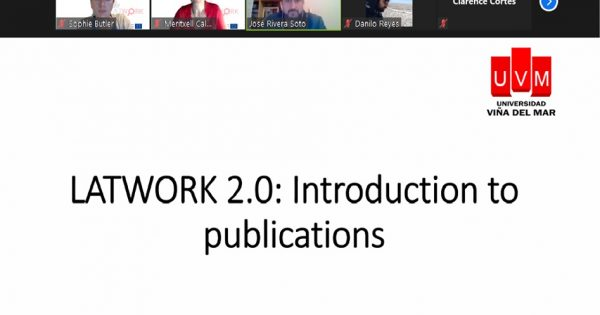 De manera virtual se desarrolló segunda versión de curso LATWORK: English Training for Research and Innovation