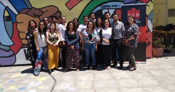 Trabajadores sociales UVM se reúnen en Campus Miraflores
