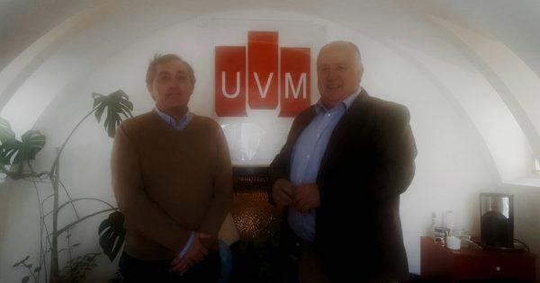 Vicerrector de Universidad de Deusto, España, visita UVM