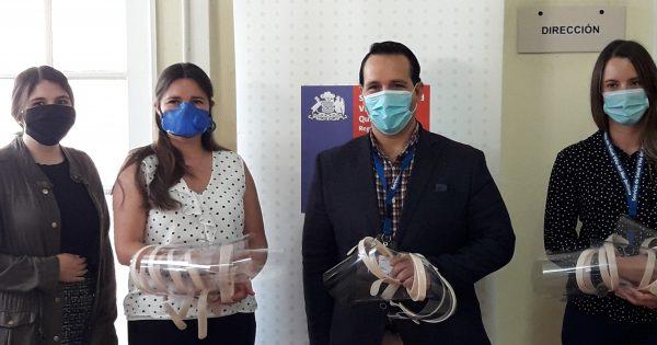 Terapia Ocupacional entregará 1000 escudos faciales al SSVQ