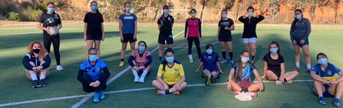 Selección de fútbol femenino UVM retorna a los entrenamientos presenciales