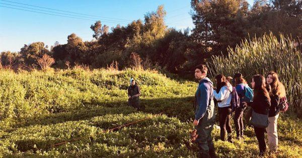 Estudiantes de Ingeniería en Medio Ambiente y Recursos Naturales estudian calidad el agua del Estero