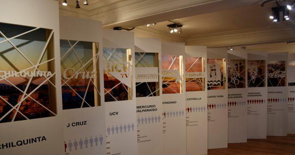 Carrera de Diseño UVM inaugura exposición sobre identidad porteña a través de logotipos
