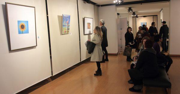 Inauguran muestra colectiva de artistas en Villa Alemana