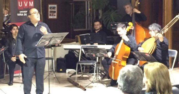 Conjunto Mundos Reunidos realizó concierto en el Club de Automóviles Antiguos de la Quinta Región