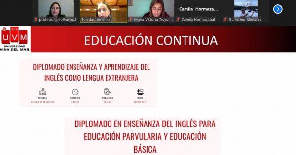 Titulados de la carrera de Pedagogía en Inglés UVM se reunieron en fructífero encuentro