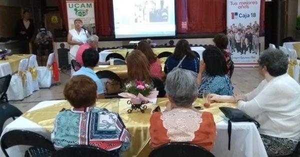 Alumnos de Trabajo Social participan en cuenta pública de la UCAM