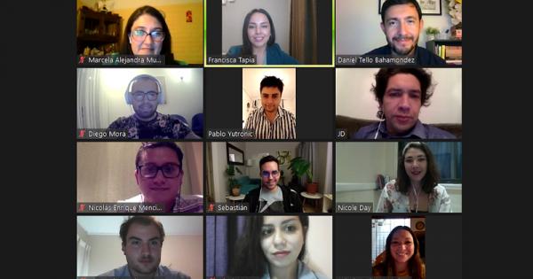 UVM realizó Focus Group Virtual con titulados y tituladas de la Carrera de Periodismo