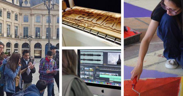 Programa de Actividades fin de año de la carrera de Diseño UVM
