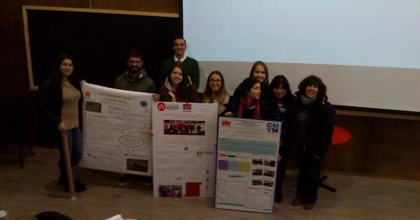 Estudiantes de Trabajo Social presentan posters basados en sus prácticas