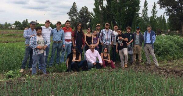 Nueva Gira al Sur de Estudiantes de Agronomía