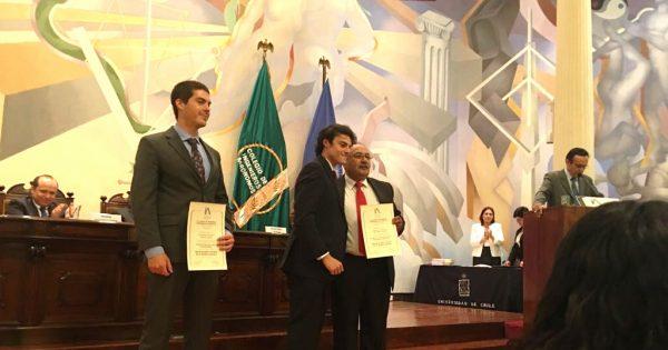 Titulado de Agronomía fue reconocido por Colegio de Ingenieros Agrónomos