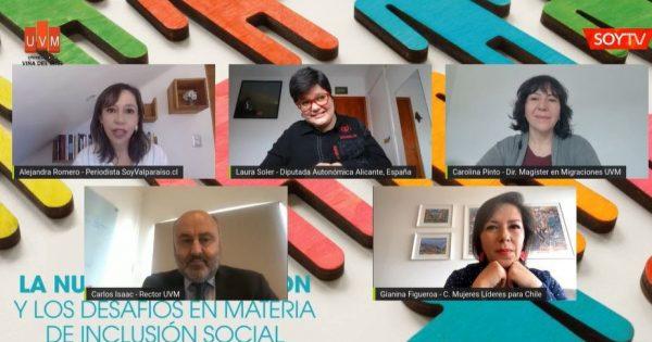 Webinar UVM sobre la Nueva Constitución en materia de inclusión social
