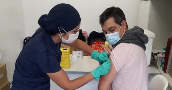 Exitoso operativo de vacunación contra la Influenza se realizó en UVM