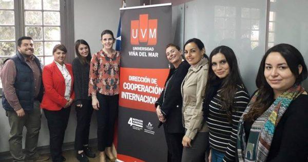 Una nueva visita internacional llegó a UVM gracias a Proyecto ERASMUS+KA 107
