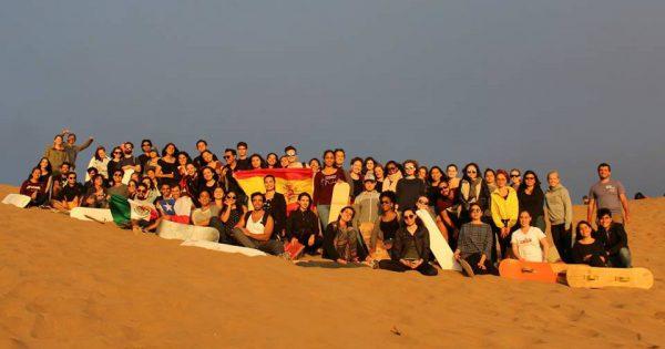 UVM recibe a más de un centenar de estudiantes internacionales