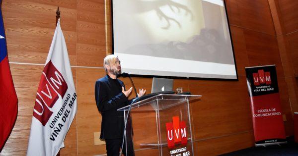 Cineasta chileno inaugura año académico de la Escuela de Comunicaciones UVM