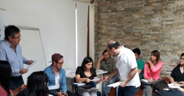 Estudiantes de Ingeniería Civil Industrial UVM asesoran a Centro de Desarrollo de Negocios de Ñuñoa