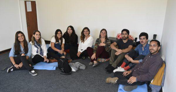 Estudiantes en práctica de Psicología participan en jornada de reflexión