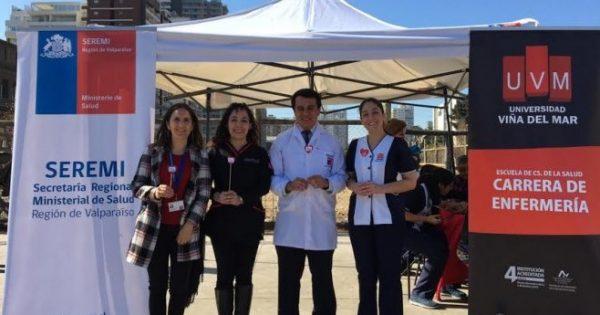 Estudiantes de Enfermería UVM realizaron control preventivo de la Hipertensión Arterial