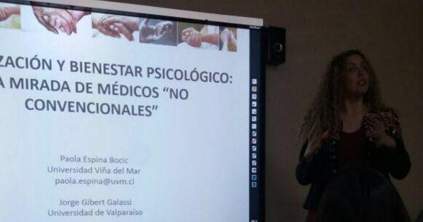 Académica de Psicología expone en XII Congreso Nacional de Psicología