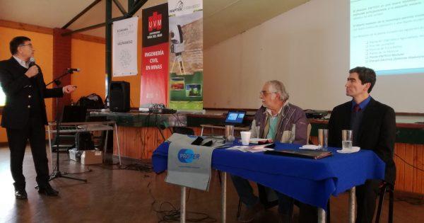 UVM fue parte del Segundo Encuentro de la Pequeña Minería realizado en Petorca