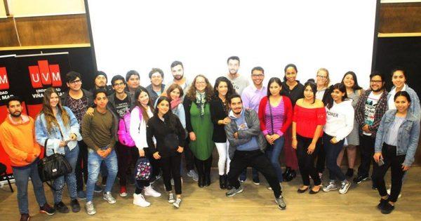 Con workshops, charlas magistrales y conversatorios los Relacionadores Públicos de la UVM celebraron su semana