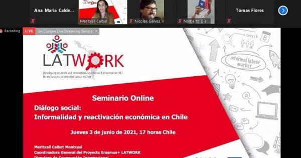 Seminario online Latwork analizó la reactivación económica
