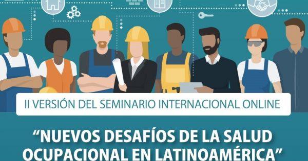 UVM realizará segunda versión del seminario internacional online de Salud Ocupacional
