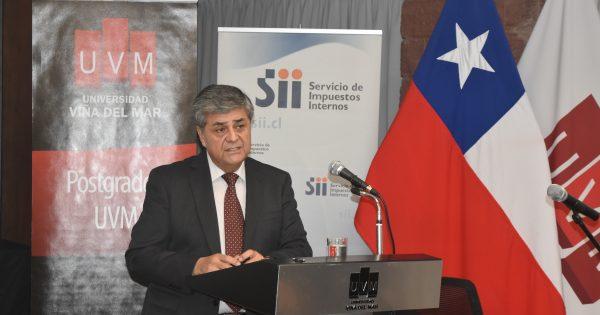 Director Regional del SII dictó charla magistral para la Escuela de Ingeniería y Negocios