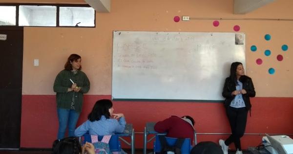 CEPS UVM realiza taller de sexualidad en escuela viñamarina