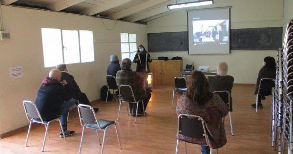 Carrera de Trabajo Social UVM cerró práctica con dirigentes sociales