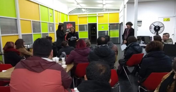 Carrera de Trabajo Social realiza encuentro entre estudiantes y docentes