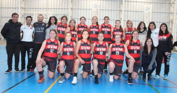 Campeonas UVM: Equipo de Básquetbol femenino obtiene primer lugar en las LDES