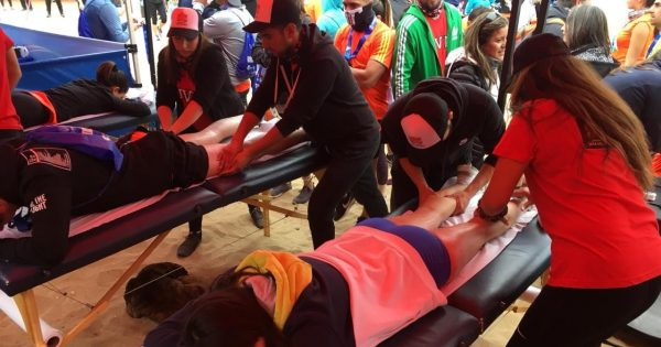 UVM se hizo presente en Maratón de Viña del Mar
