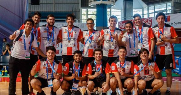 Vóleibol Varones se consagra como Campeón de torneo ODESUP
