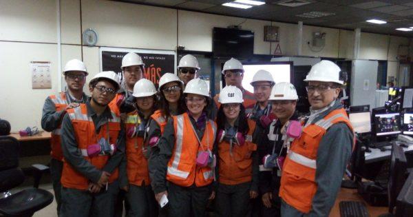 Estudiantes de Ingeniería Civil en Minas visitan Codelco División Ventanas