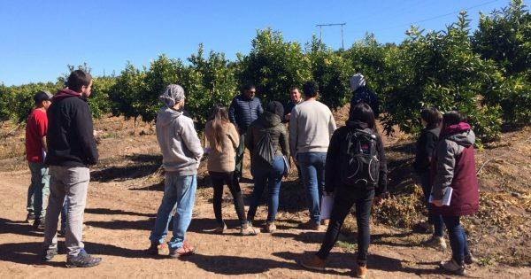 Estudiantes de Agronomía realizan gira al Norte de Chile