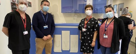 Director de Salud de Viña visita Centro Docente Asistencial y Clínica Odontológica UVM