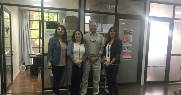 Trabajo Social UVM recibe visita de catedrático español