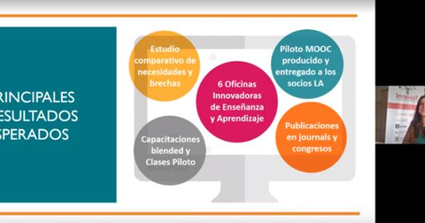 Participa de los webinars sobre enseñanza y aprendizaje innovadores