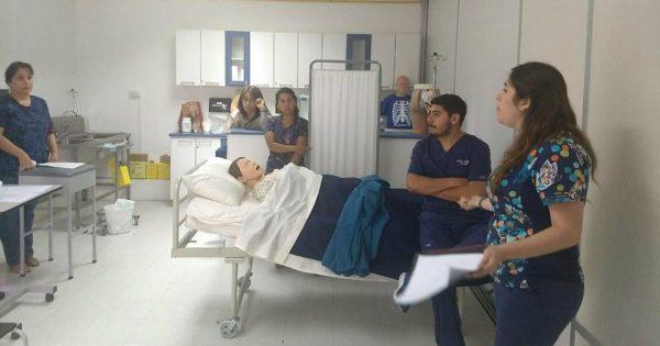 Docentes de la Escuela de Ciencias de la Salud participan de Curso Simulación Clínica Básica
