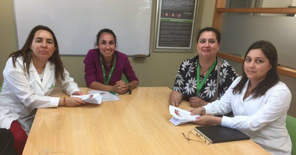 Carrera de Ingeniería en Prevención de Riesgos colaboran en pausa saludable para empresa Rhona